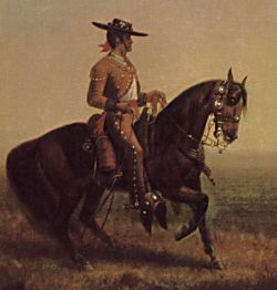 Californio Ranchero, 1850s